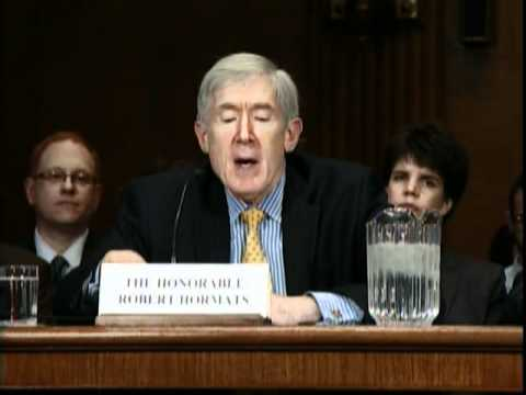 Under Secretary Hormats Testifies on Trade Opportunities in the Asia Pacific