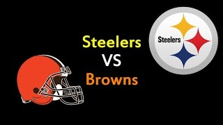 ROBLOX - NFL - Steelers VS Browns Meilleurs moments