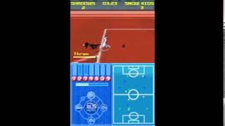 Galactik football gameplay Snow Kids vs Shadows