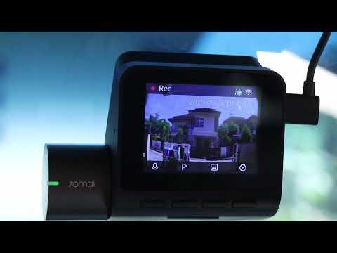 70mai Pro Dash Cam GPS & ADAS Functions