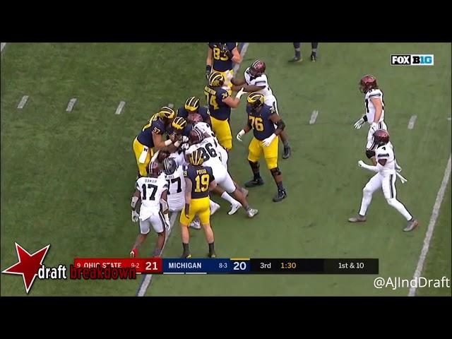 Nick Bosa (Ohio State EDGE) vs Michigan - 2017  Nick Bosa sddefault