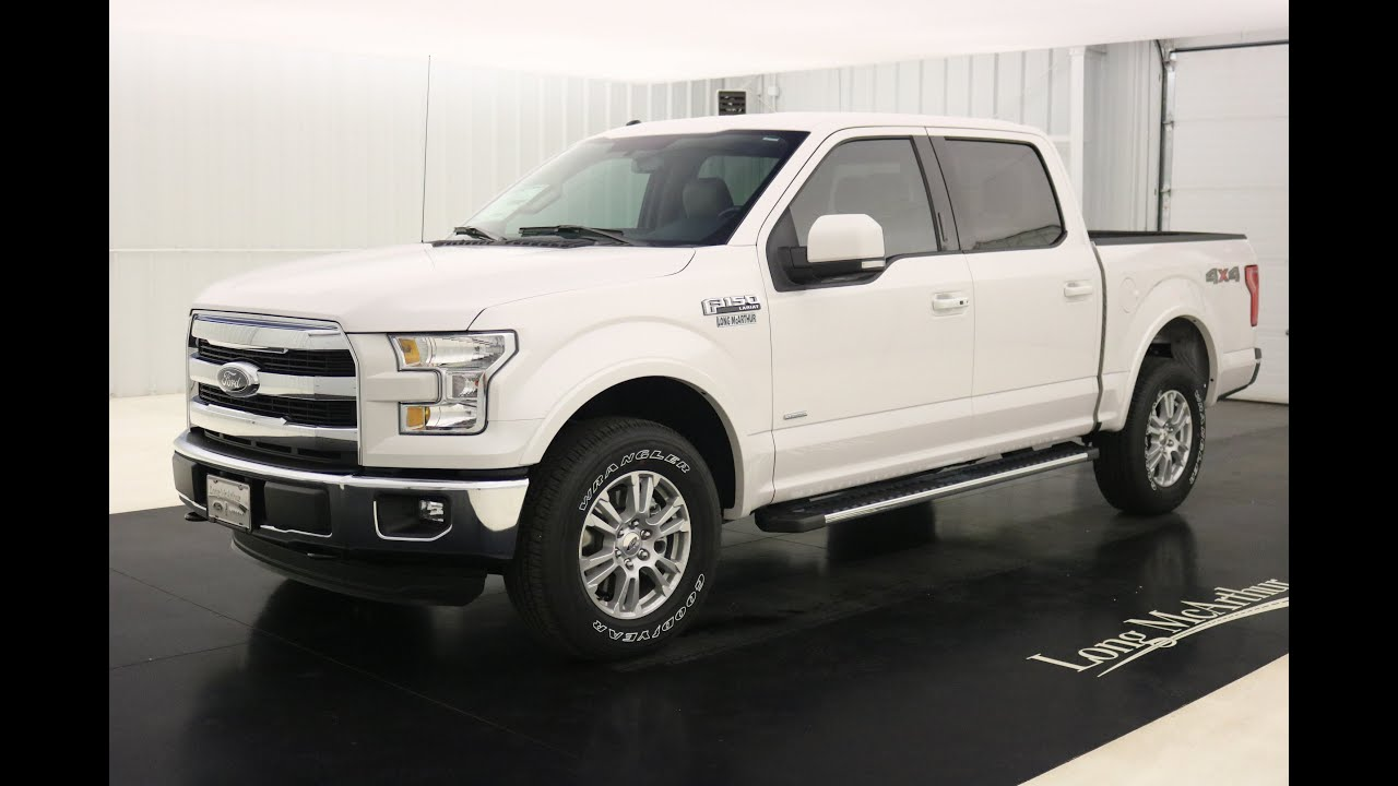 Ford F  Lariat Standard Equipment Available Options