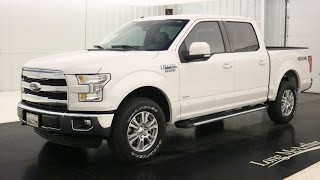 2016 Ford F-150 Lariat: Standard Equipment & Available Options