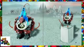 LEGO instructions - Bionicle - 8617 - Zadakh