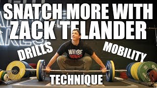How To Snatch More With Zack Telander