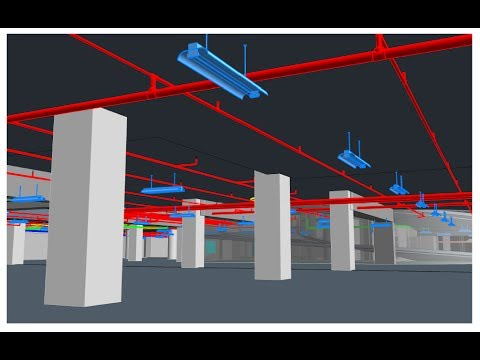 Fire sprinkler system suction on high building,3D Plans