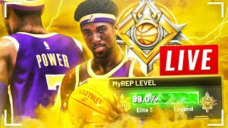 HITTING LEGEND LIVE (FULL STREAM) - UNLOCKING BEST PLAYER BUILD & JUMPSHOT NBA 2K20!