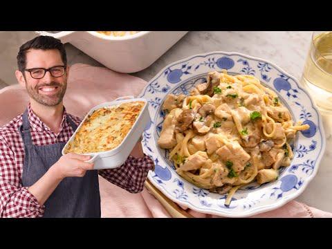 Chicken Tetrazzini - Preppy Kitchen