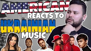 American REACTS // Ukrainian Music