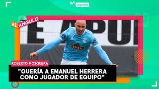 Roberto Mosquera: ¿Cómo convence a sus jugadores para cambiarlos de posición? | AL ÁNGULO