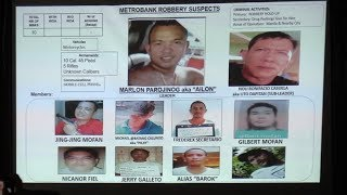 MPD: Suspects in Binondo bank heist named; have links to 'Parojinog group'