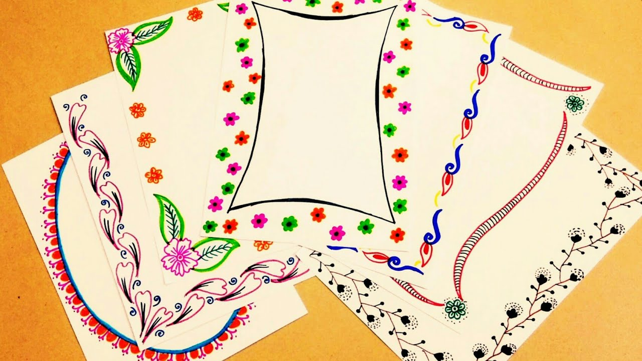 Coronas Para Decorar Cuadernos.Margenes Para Cuadernos Bordes Marcos Para Cuadernos Margenes Bonitos Margenes Para Cuaderno