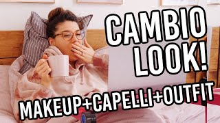 CAMBIO LOOK TOTALE MAKEUP/CAPELLI/OUTFIT SPRING 2021 🔥