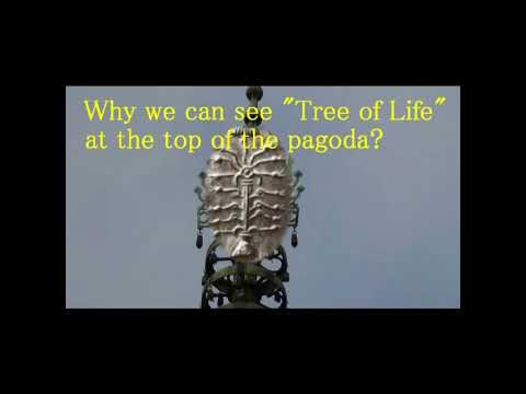 3220【06参再】Tree of Life in Horyu ji Temple 法隆寺・五重塔の相輪=生命の木説 byHiroshi Hayashi, Japan