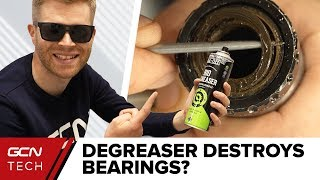 Does Degreaser Destroy Bikes And Their Bearings?