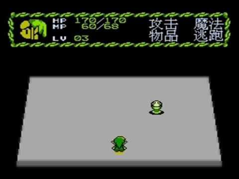 The Minish Cap in NES