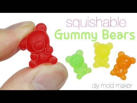 How to DIY Squishy/Squishable Gummy Bear Toy Tutorial