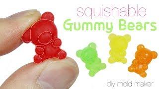 How to DIY Squishy/Squishable Gummy Bear Toy Tutorial