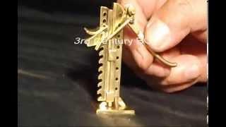 Miniature Tools Wagon Jack: By Art Rafael