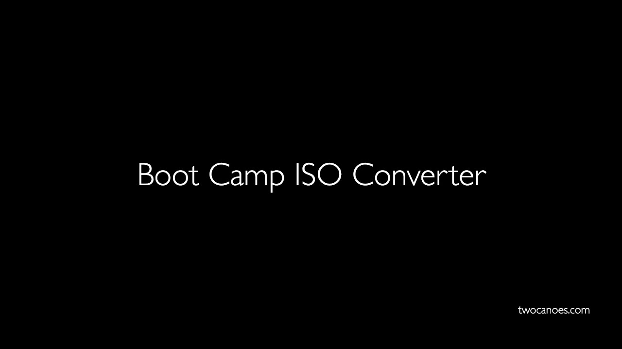 Using larger Windows 10 ISOs with Boot Camp Assistant