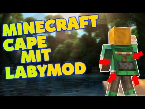 MINECRAFT CAPE FOR FREE! 1.8/1.9/1.10 MIT LABYMOD [German ...