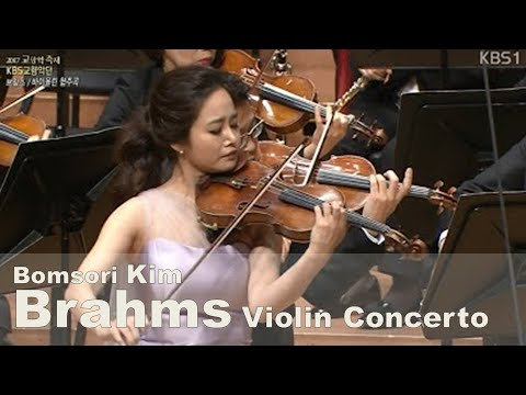 Brahms Violin Concerto in D major, Op.77 - Bomsori Kim 김봄소리
