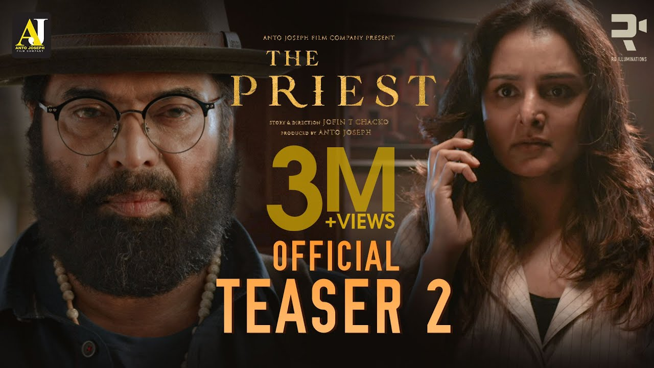 Download The Priest Official Teaser 2 | Mammootty | Manju Warrier | Jofin T Chacko | Nikhila Vimal