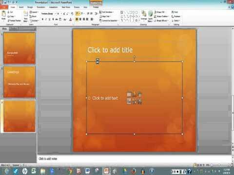 how to make a slideshow slides