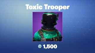 Toxic Trooper | Fortnite Outfit/Skin