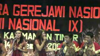 indonesian gospel vocal group competition 2009.MP4
