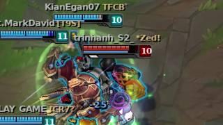BLITZCRANK MONTAGE | Cú kéo thần thánh | League of Legends funny moments