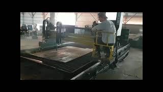 Портальная машина с ЧПУ для термической резки металла «ECONOCUT»