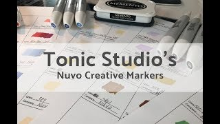 Tonic Nuvo Creative Pens | Alcohol Ink Markers | Product Review