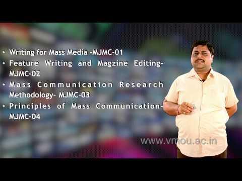 Master Of Journalism (Mass Communication)