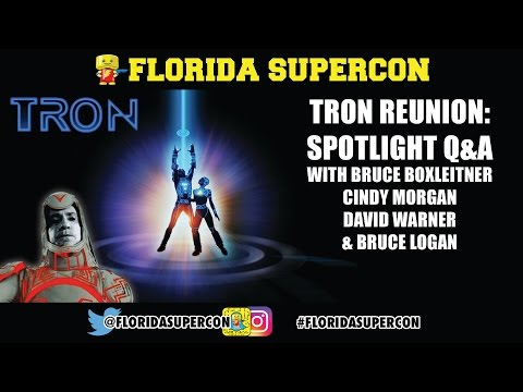 Tron Q&A with Bruce Boxleitner, Cindy Morgan, David Warner a