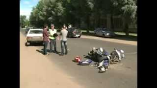 Сбил скутериста в Дядьково Ярославль(, 2013-08-17T06:48:11.000Z)