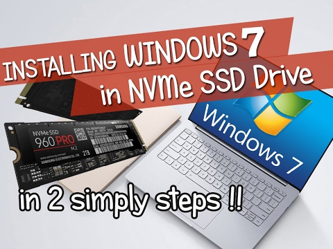 Add NVMe driver support to Windows 7 Installation