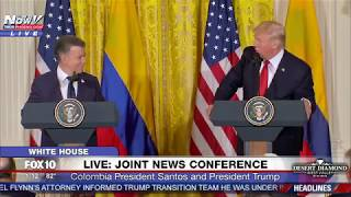 FNN: President Trump And Colombian President Juan Manuel Santos PRESS CONFERENCE @ White House FULL