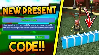 *NEW* PRESENT CODE in Build a boat For Treasure ROBLOX