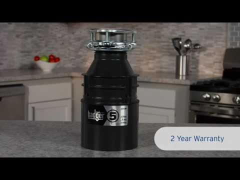 badger 5 garbage disposal gds reviews