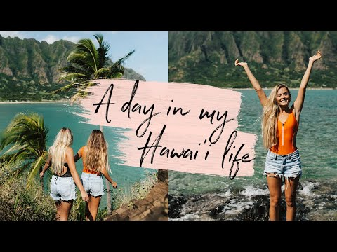 DAY IN THE LIFE HAWAII - Behind the scenes of my Instagram photos!