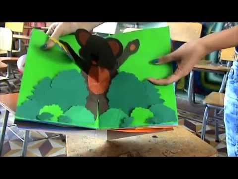 Pop up book youtube for Popup house youtube