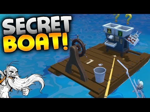 "Crazy Fishing VR Gameplay - ""THE SECRET BOAT!!!"" HTC Vive Virtual Reality Let"