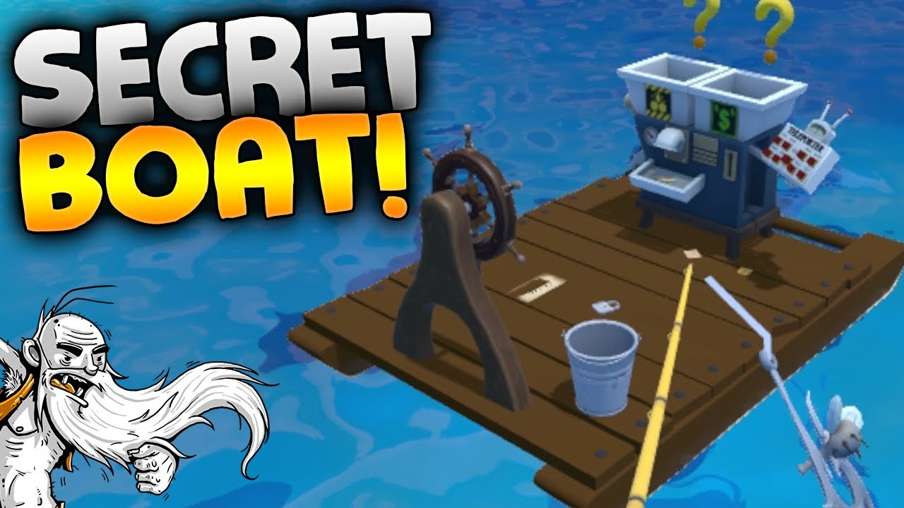 Crazy fishing vr gameplay the secret boat htc vive for Virtual reality fishing