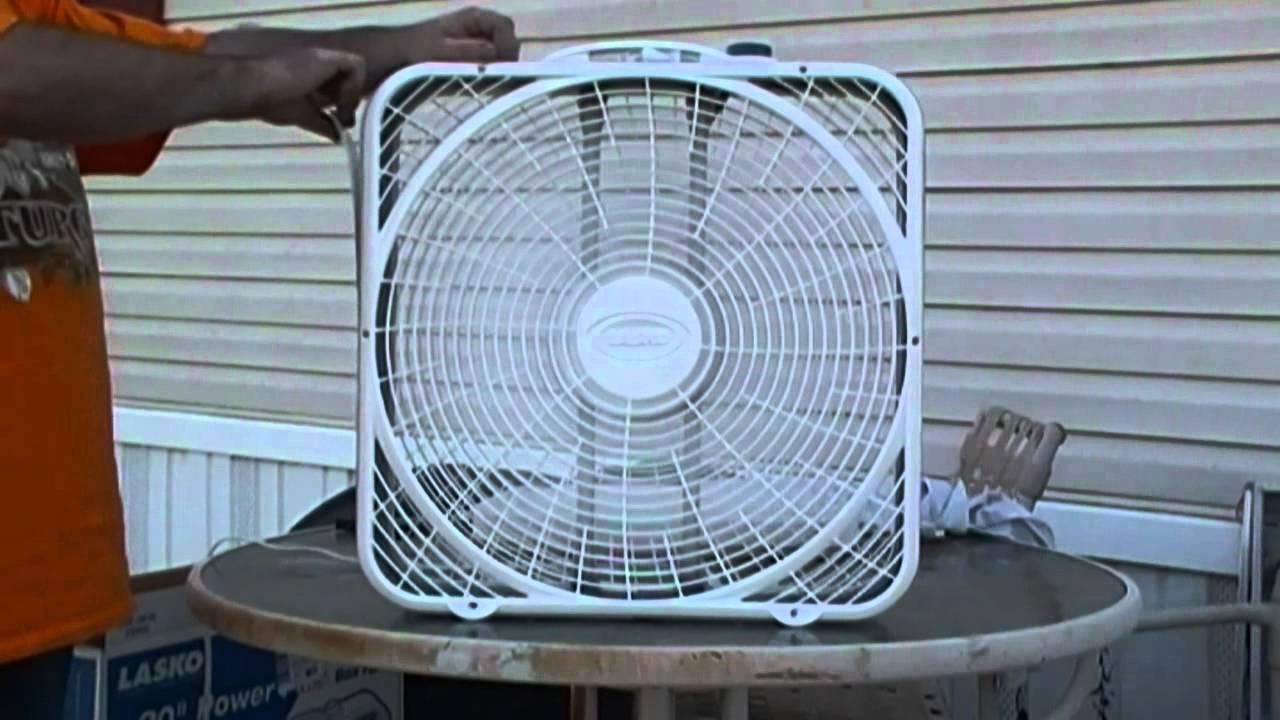Lasko Box Fan Stopped Working Fuse Lakewood 20 Inch 3 Speed Sears
