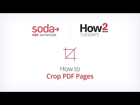 How To Crop PDF Pages