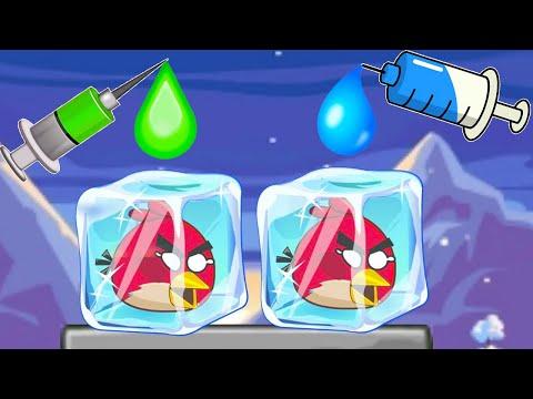 РАЗМОРОЗЬ ЗЛЫХ ПТИЧЕК или ЗЛАЯ ДИЧЬ с Кидом #1 Unfreeze Angry Birds на крутилкины