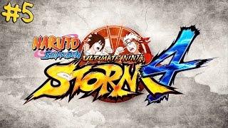 Naruto SUN Storm 4 #5- Obito + Kakashi vs Taiseki + Kakkou Boss Battle(Japanese Audio/no commentary)