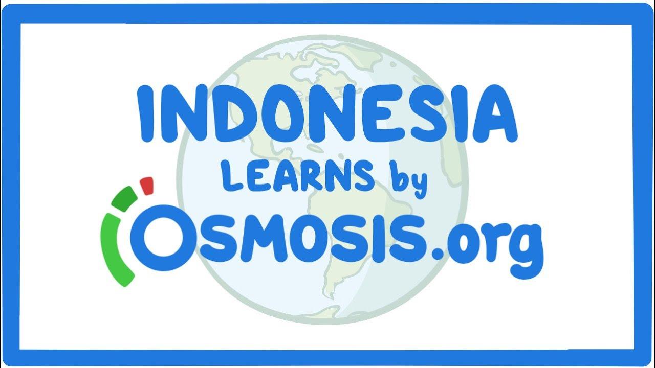 Osmosis Around the World: Indonesia
