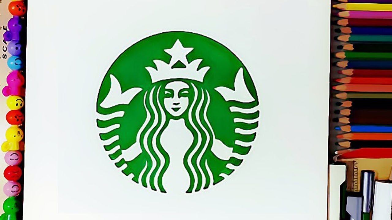 How To Draw The Starbucks Logo Starbucks Coffee